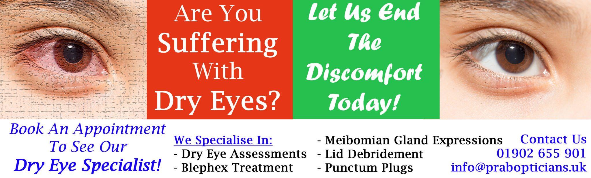 Website banner Dry eye new