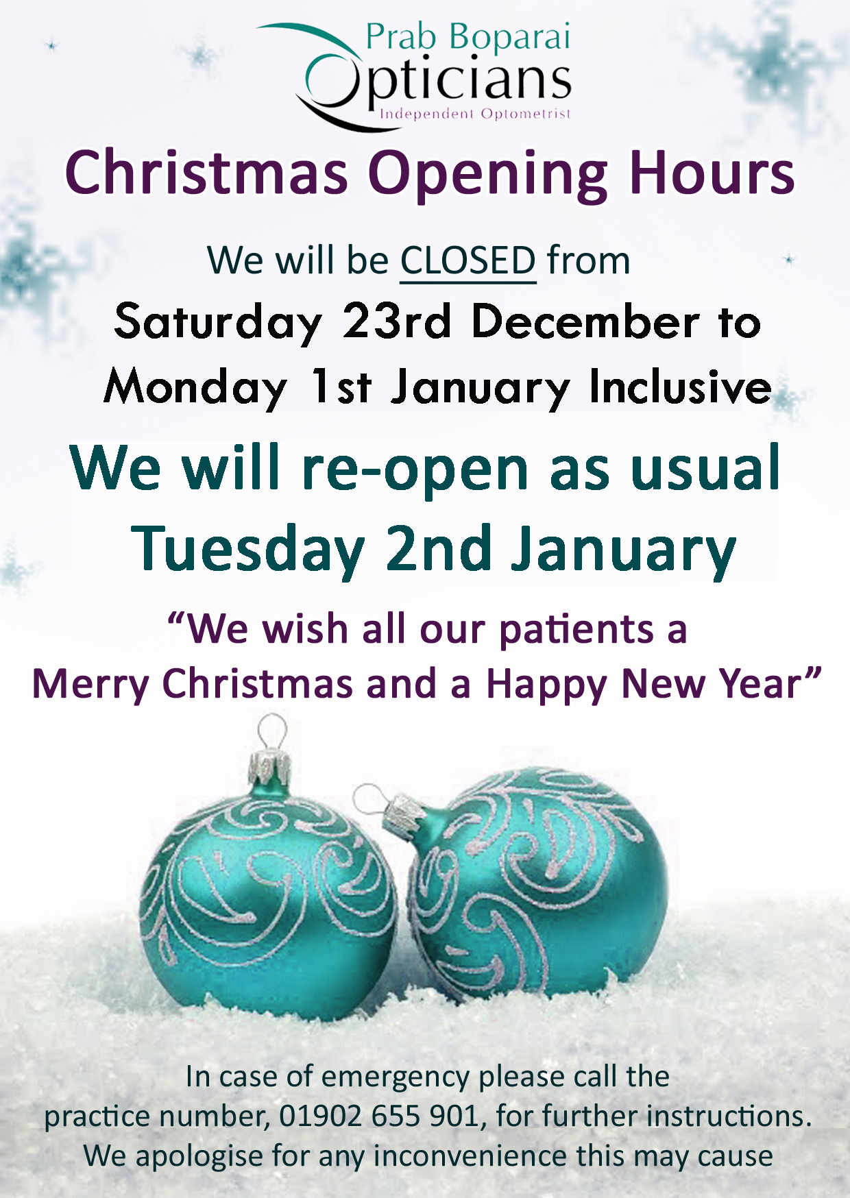 2017 Cmas opening times copy
